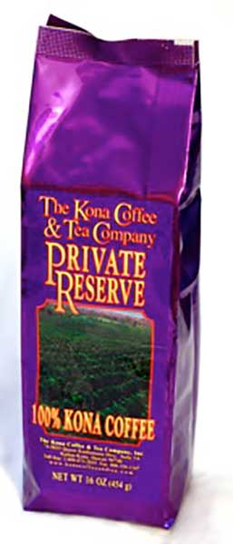 Pea Berry Bean 100% Kona Dark Roast